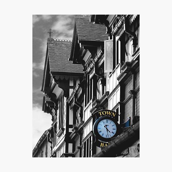 Town Bar Pub Heaton Moor Stockport Cheshire Photographic Print