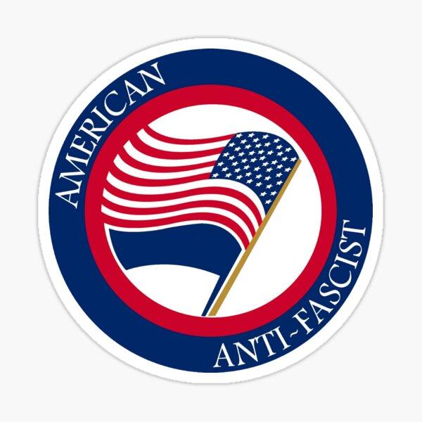 American Anti-Fascist Sticker