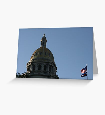 Capital Of Colorado Greeting Card