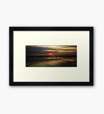 Bangalleys' Dawn Framed Print