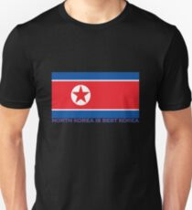 North Korea is Best Korea Unisex T-Shirt
