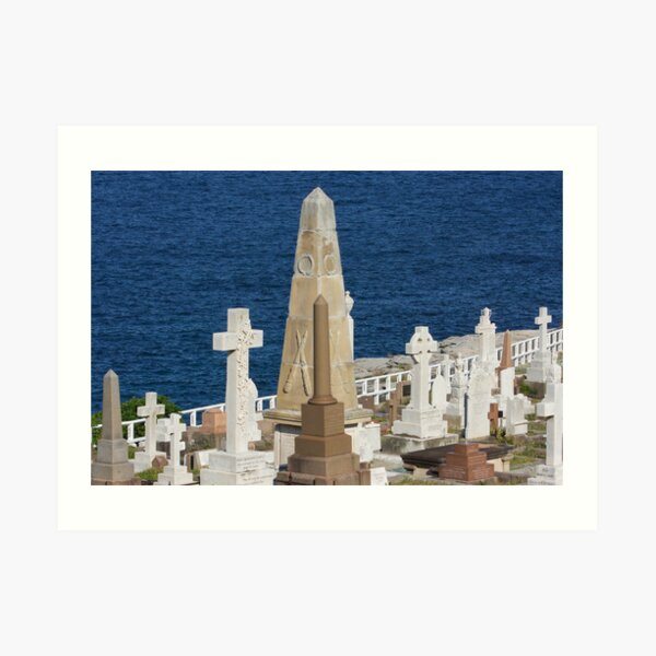 LOST AT SEA MEMORIALS 2 Art Print
