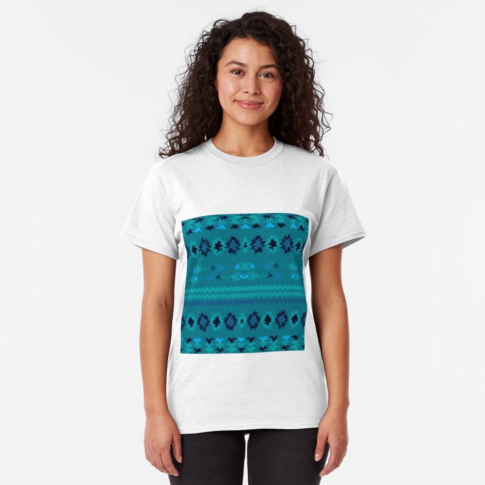 Turquoise Nava Classic T-Shirt