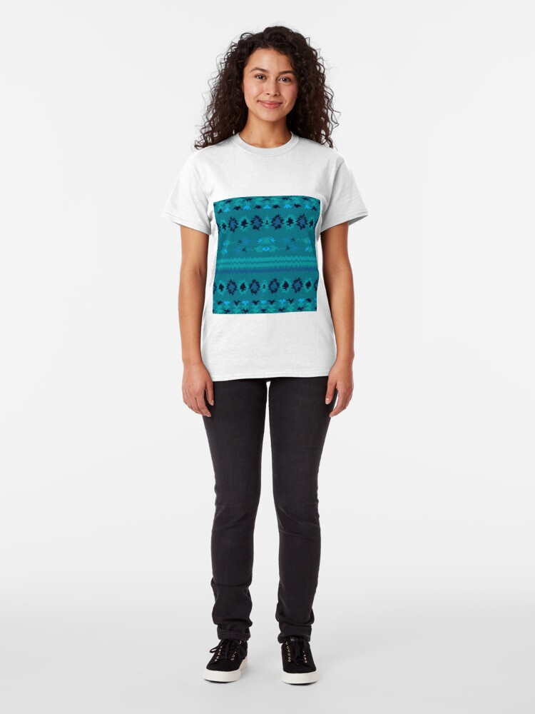 Alternate view of Turquoise Nava Classic T-Shirt