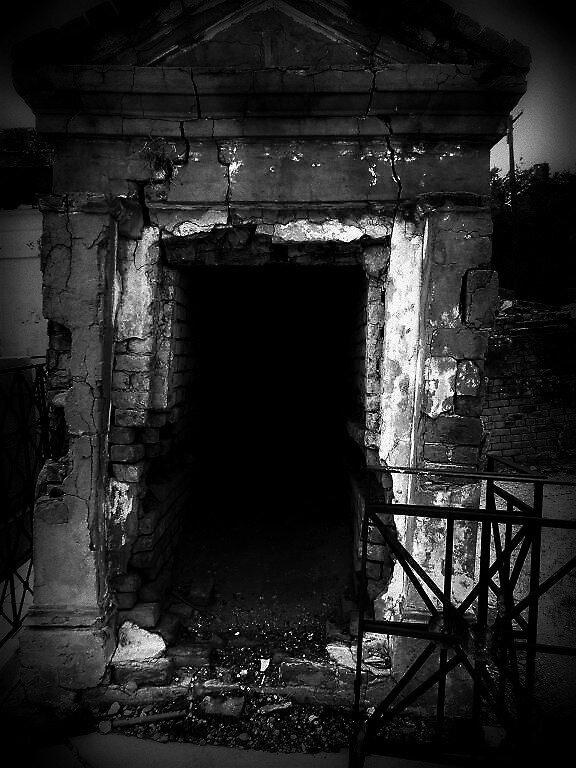 decrepit crypt by nessbloo