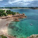 """Beauport Bay, Jersey"" by Bradley Shawn  Rabon"