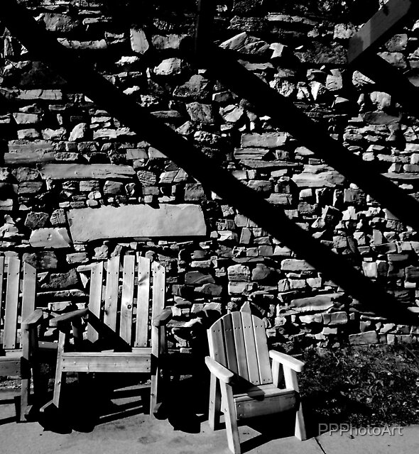 Motel Chairs by PPPhotoArt