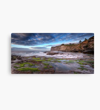 The Rock Shelf at Bangalley Canvas Print