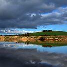 Dam Reflections by Gavin Kerslake