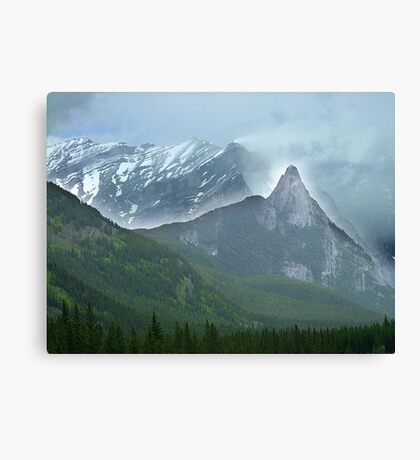 The High and the Mighty Canvas Print