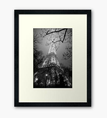 Dreamy Eiffel Tower  Framed Print