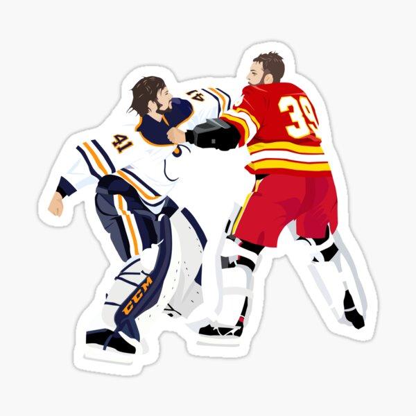 Hockey - Goalie Fight! Sticker