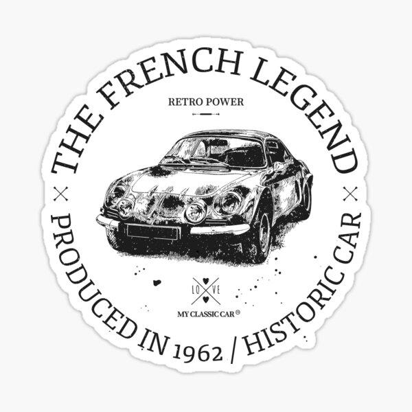 Renault Alpine A110 Sticker