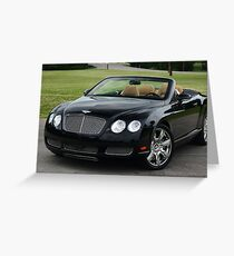 GTC Bentley - 6.0 Twin Turbo W12 ! Greeting Card