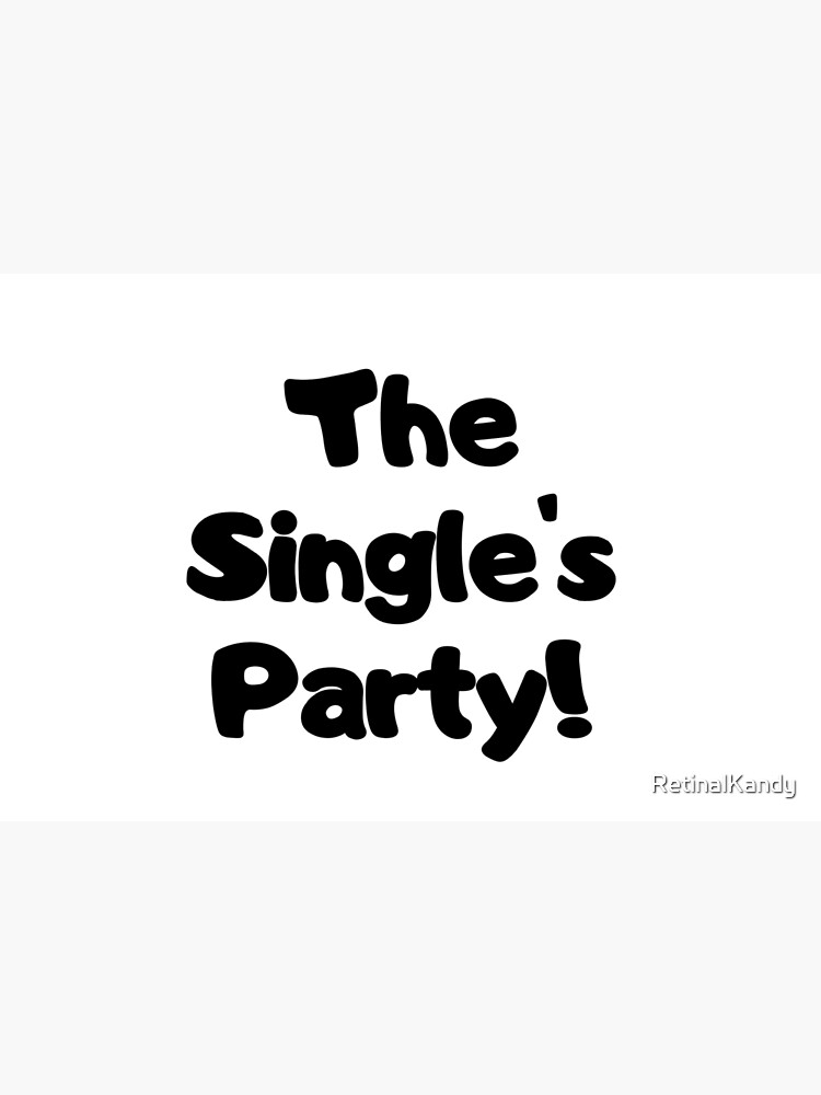 The Single's Party logo by RetinalKandy