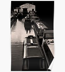 The Dry Dock, Norbury Junction. Poster