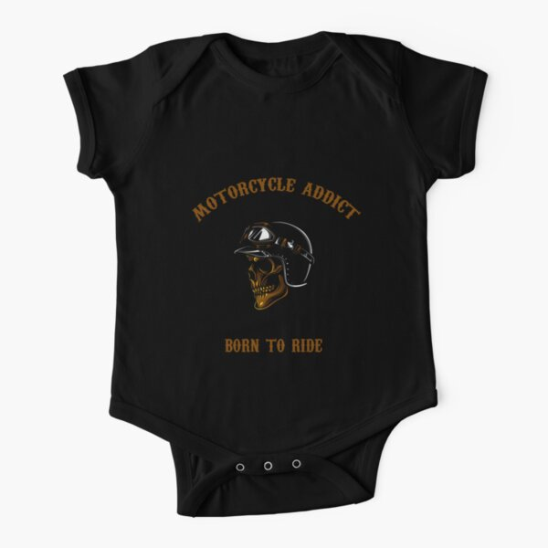Motorcycle Addict Body manches courtes