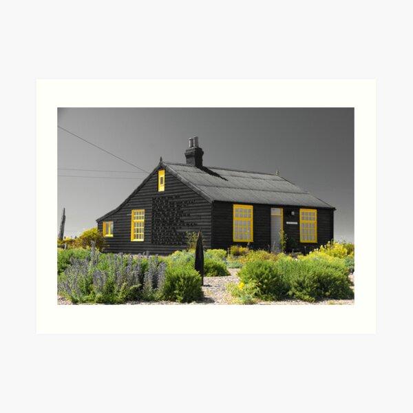 Derek Jarman's Cottage Dungeness Art Print