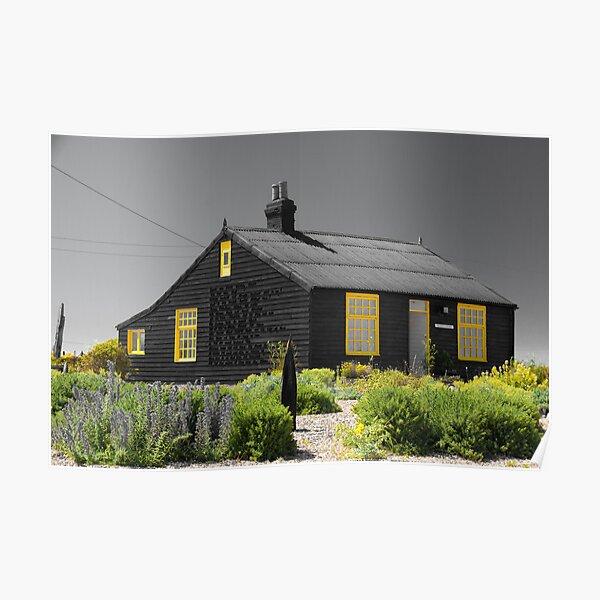 Derek Jarman's Cottage Dungeness Poster