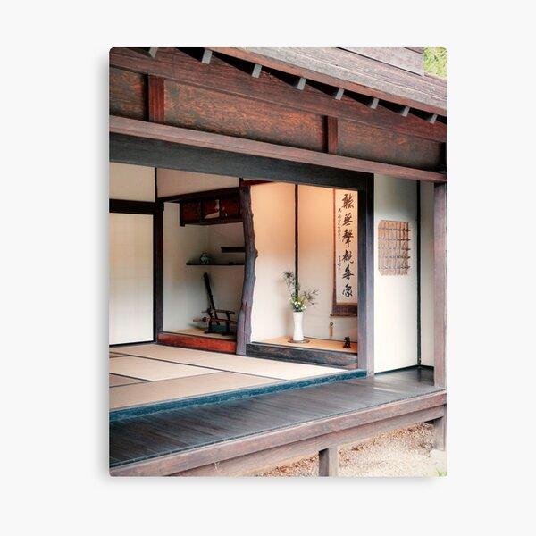 Japanese Tea Room Canvas Print