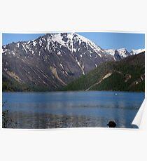 Cold Water Lake, Washington Poster