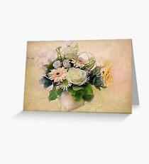 The Flower Arangement  Greeting Card