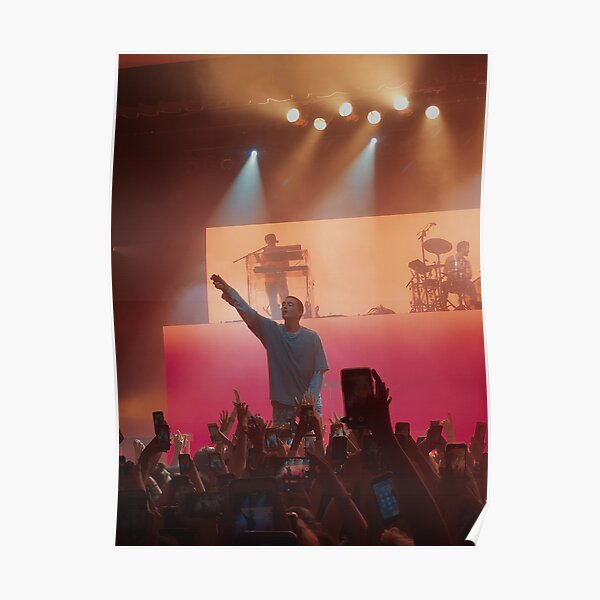 LANY's Paul Klein Concert Photo Poster