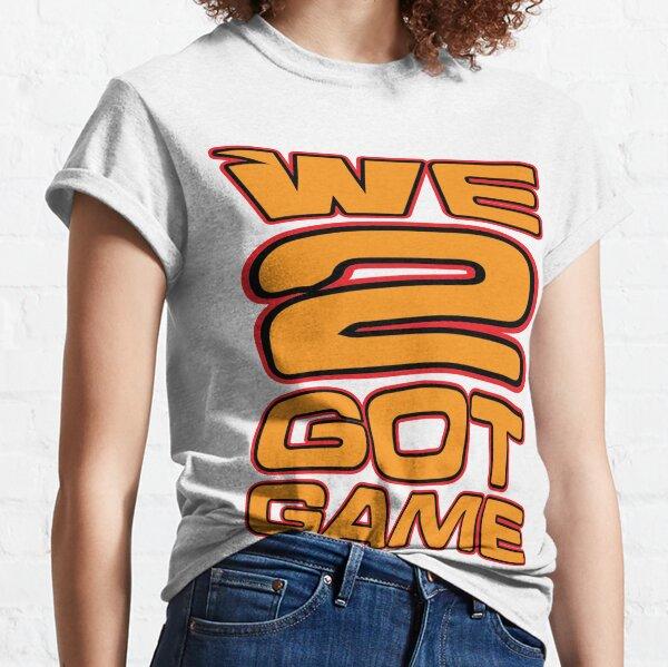 We 2 Got Game Orange Classic T-Shirt