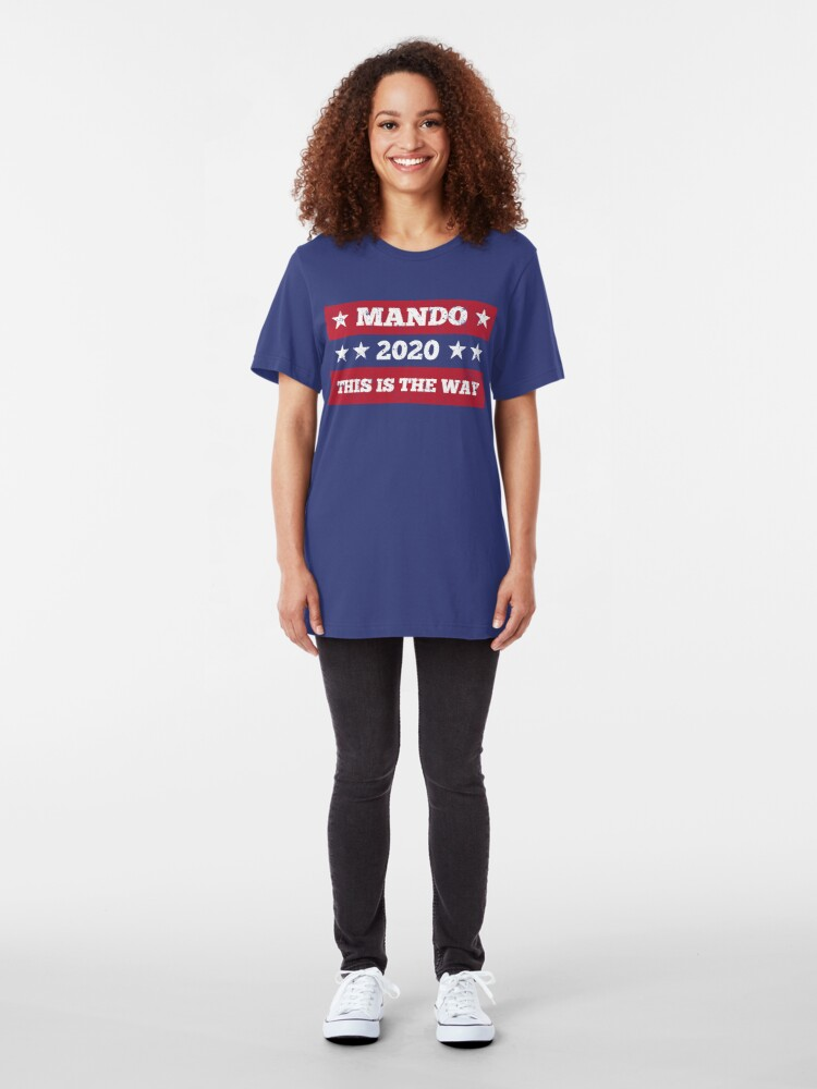 Alternate view of This is the way, 2020 Slim Fit T-Shirt