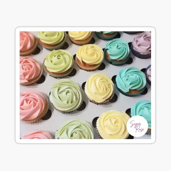Pastel cupcakes Sticker