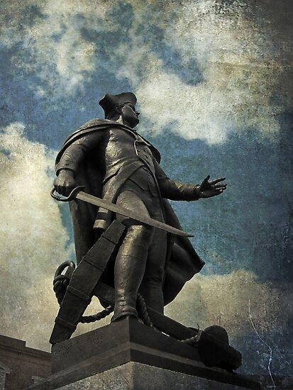 John Barry statue, Wexford, Ireland by David Carton