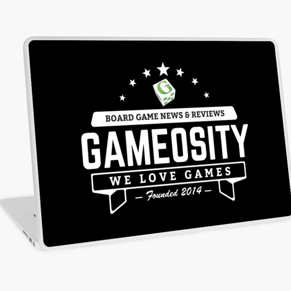 Gameosity Logo Wear Laptop Skin