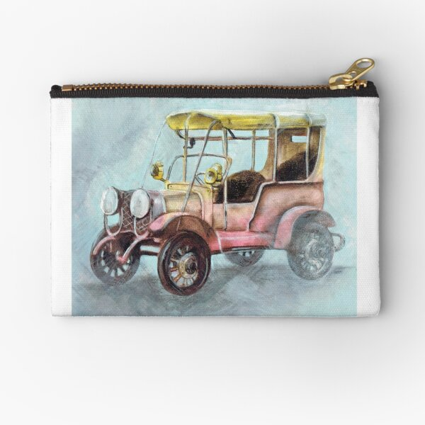 Old toy car Zipper Pouch