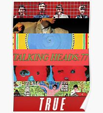 Talking Heads - Albums Poster