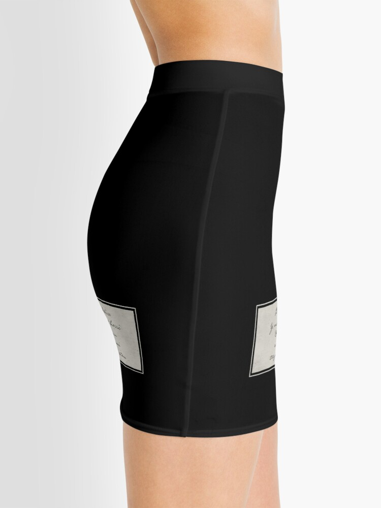 Alternate view of Penny Dreadful Verbis Diablo, Holy Protection Mini Skirt