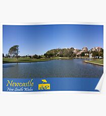 Foreshore Park - Newcastle Poster