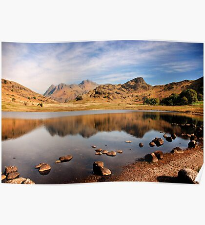 Lake District Tarn Poster