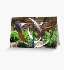 Garden Sculpture Greeting Card