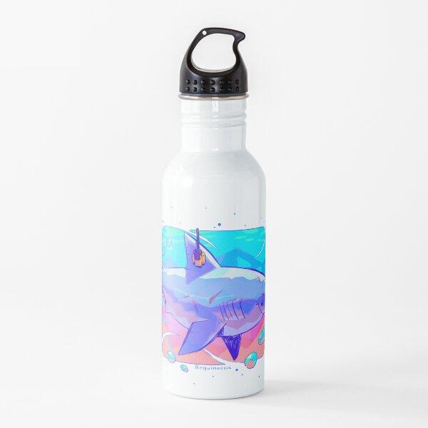 Great White Shork Anatomy Water Bottle