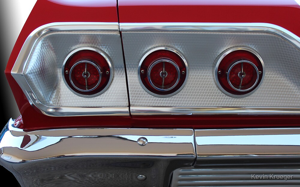 Quot 63 Impala Tail Lights Quot By Kevin Krueger Redbubble