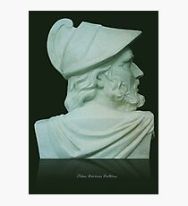 Greek Bust Photographic Print