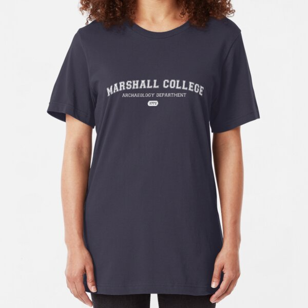 Marshall College Archaeology Department Slim Fit T-Shirt