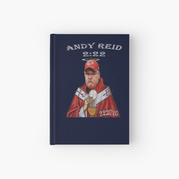 """2020 Champions - Kansas City - Andy Reid - """"His Holiness"""" Hardcover Journal"""