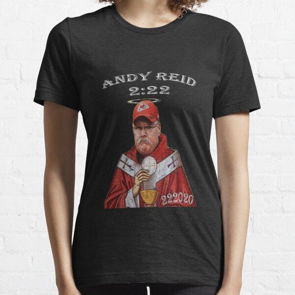 "2020 Champions - Kansas City - Andy Reid - ""His Holiness"" Essential T-Shirt"