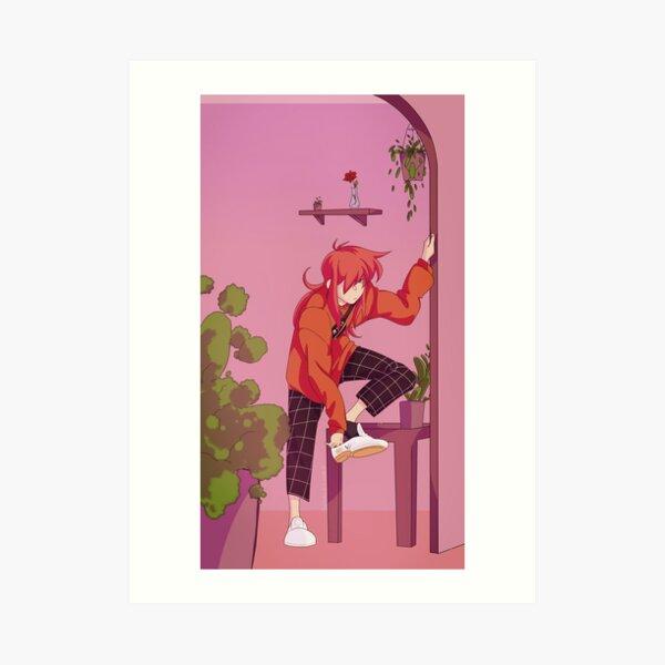 Faux Fox Art Print