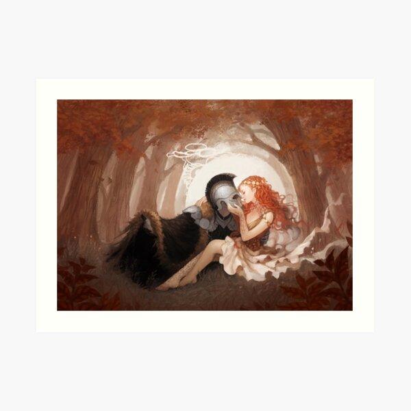 Persephone and Hades Art Print