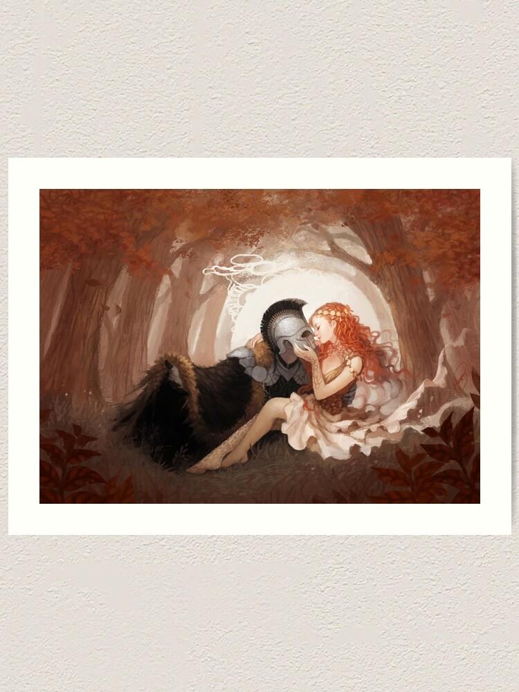 Alternate view of Persephone & Hades Art Print