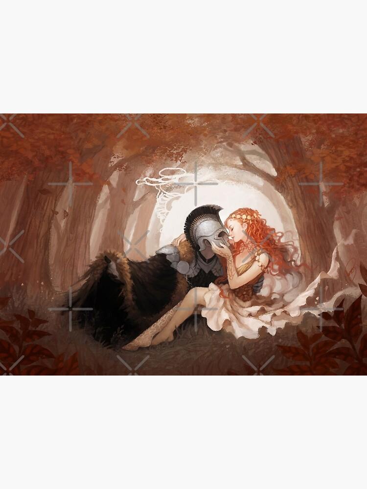 Persephone & Hades by JanainaArt