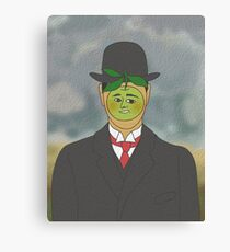 rene apple Canvas Print