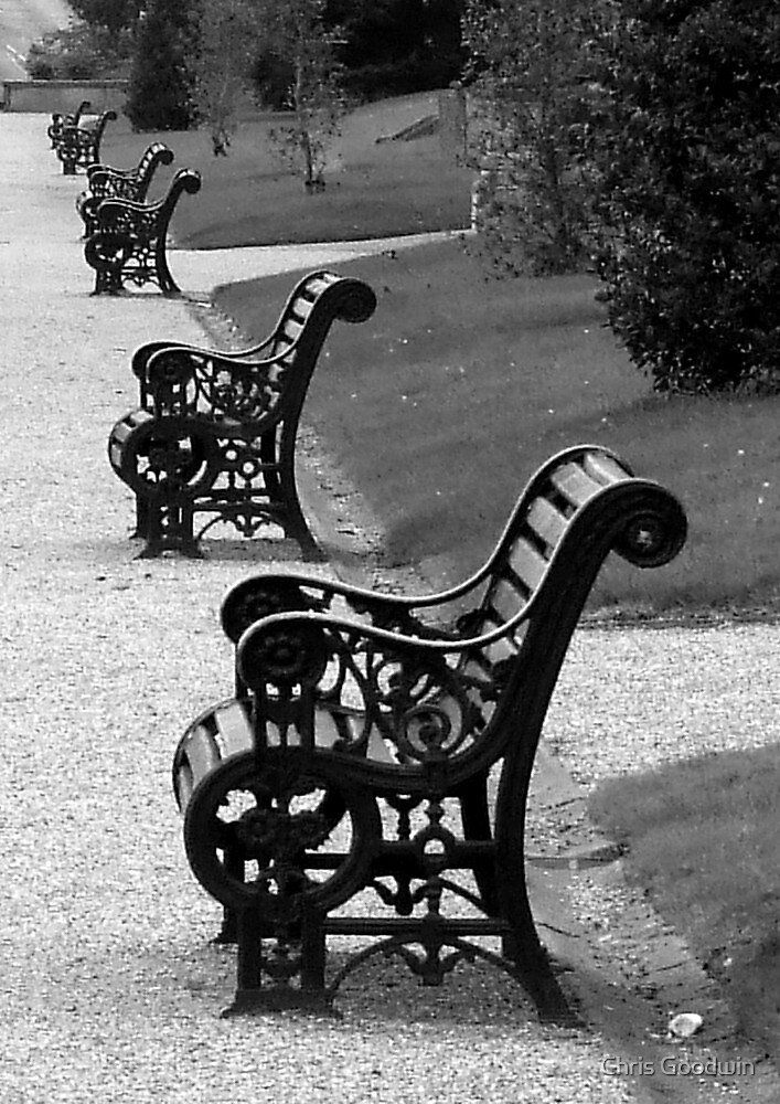 Parked Bench by Chris Goodwin